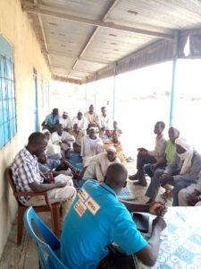 Community Health worker registration exercise Central Darfur. AAH PROJECT