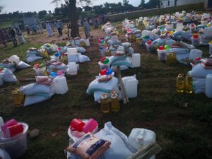 Food item distribution exercise