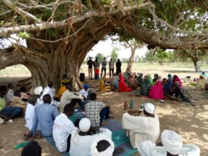 Mobile Clinic exercise -Umdukhun Central Darfur. Moafa- CRS project